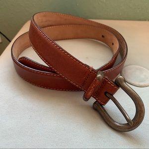 Talbots Italian Leather Belt